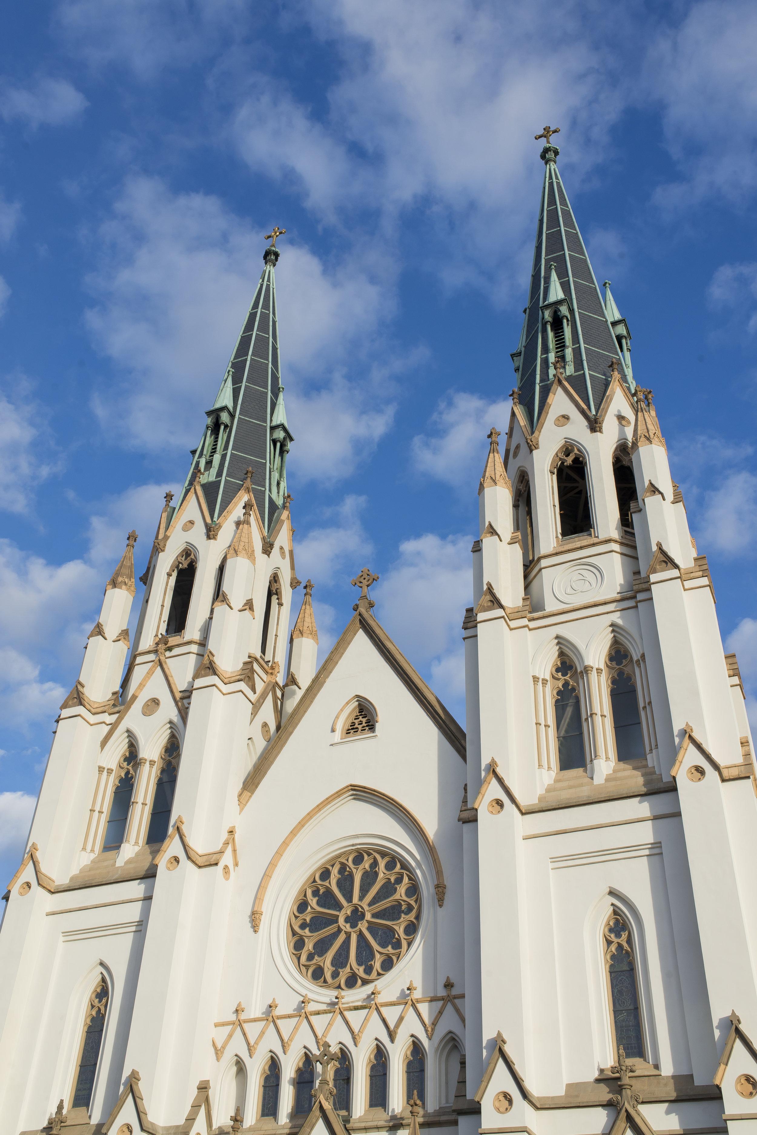 The Cathedral of St. John the Baptist, Savannah GA | Genteel & Bard