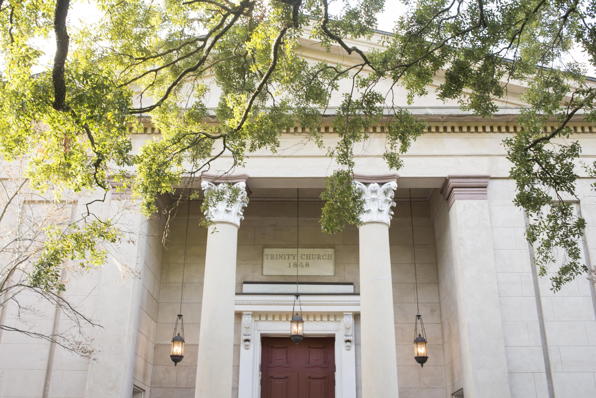 Trinity Church, Savannah, GA | Genteel & Bard