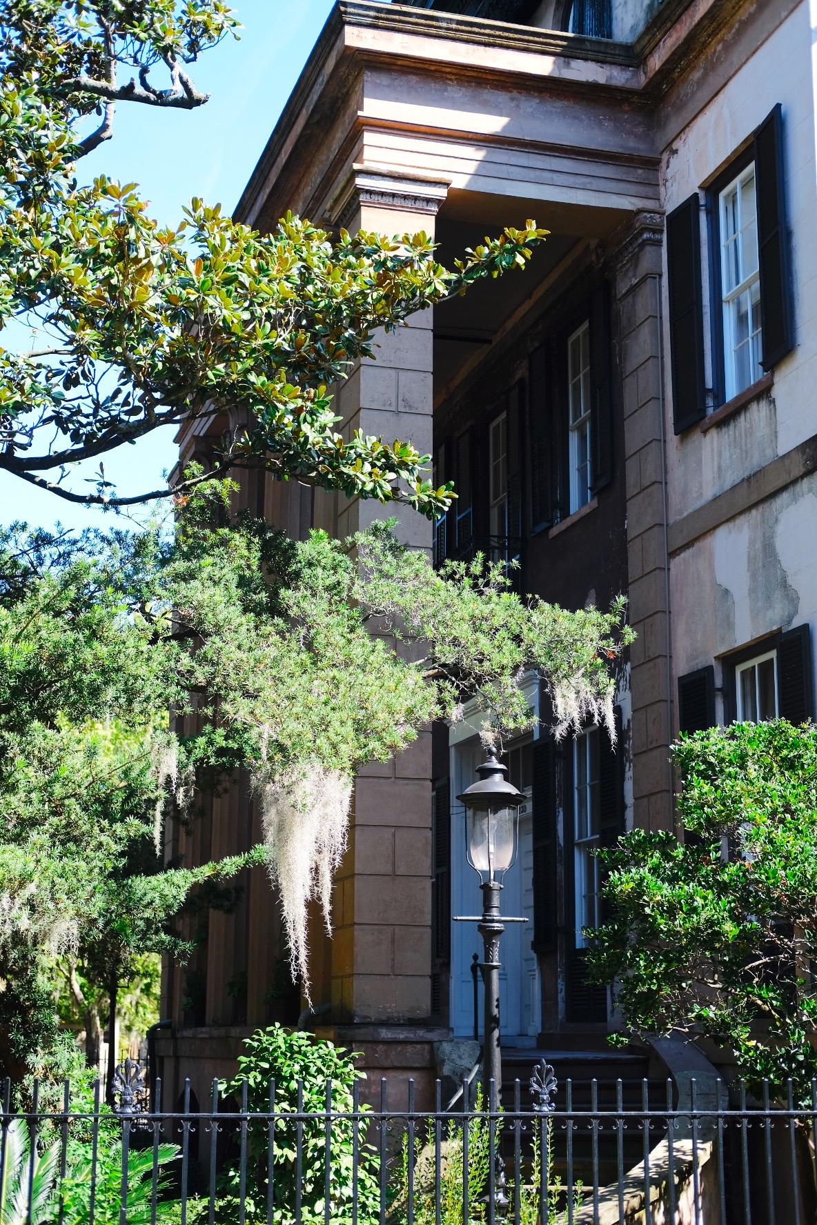The Harper-Fawlkes House, Savannah GA, Genteel & Bard