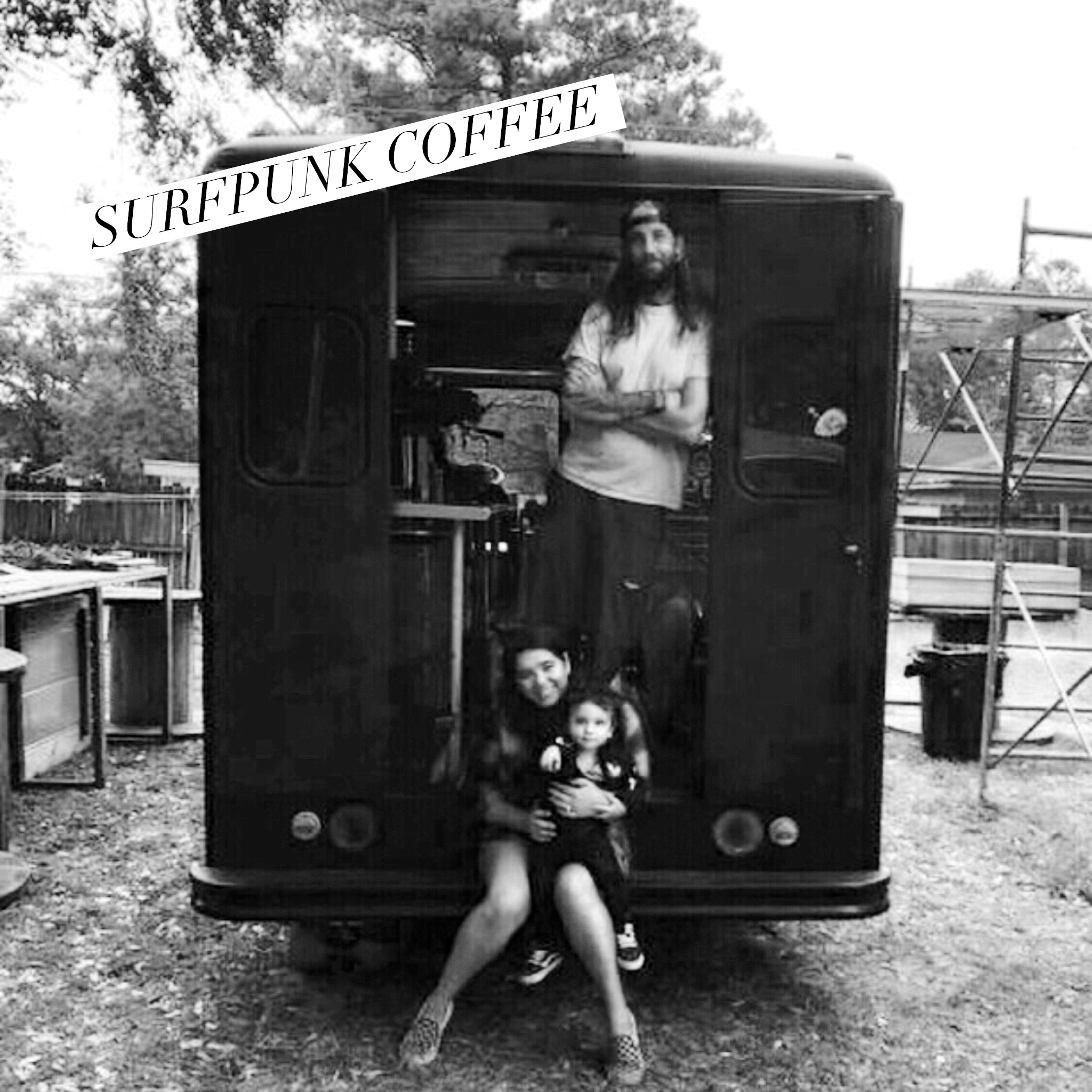 The SurfpunkCoffee Truck and Family