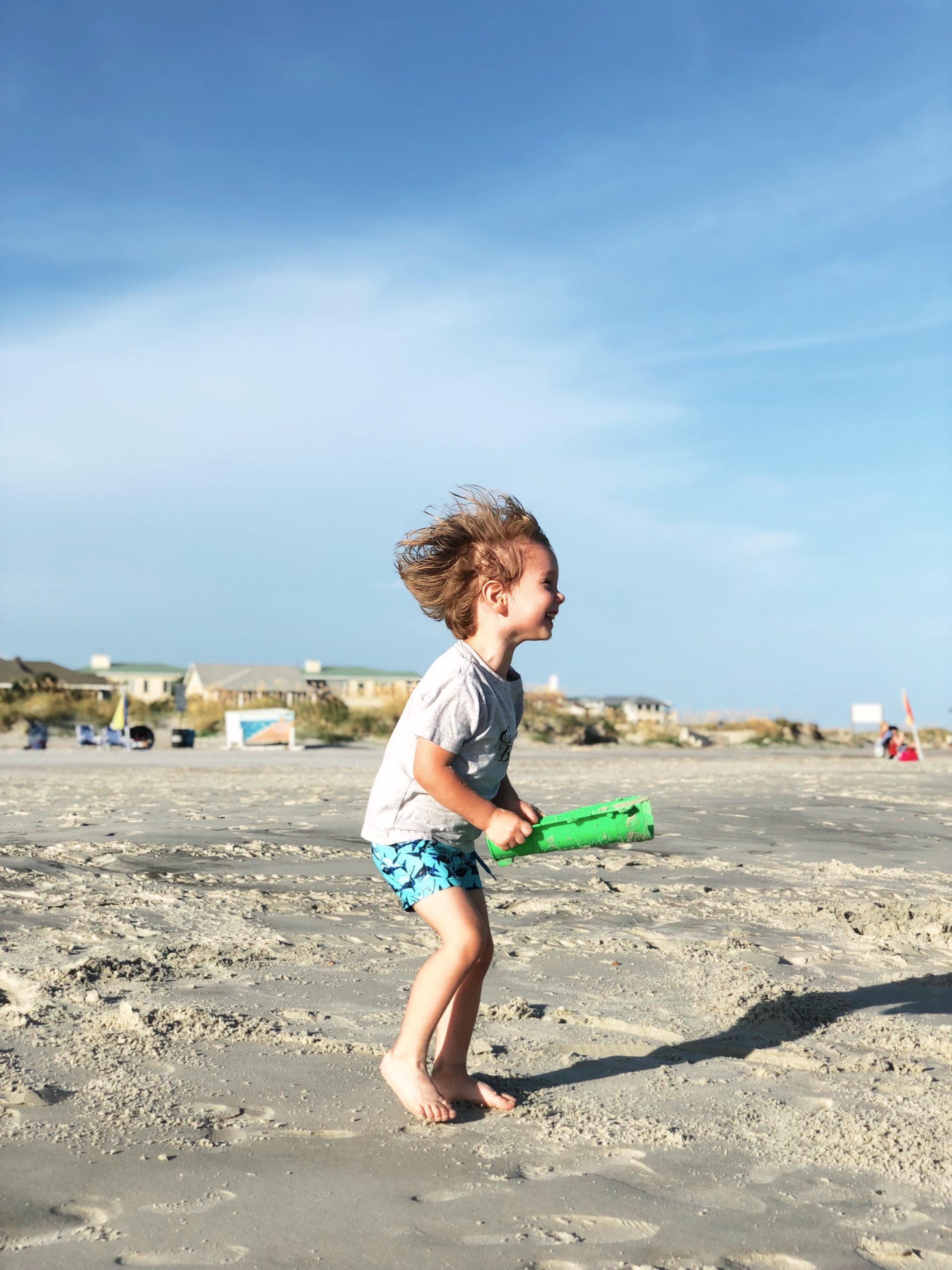 Savannah Spring Break Playing on Tybee Island