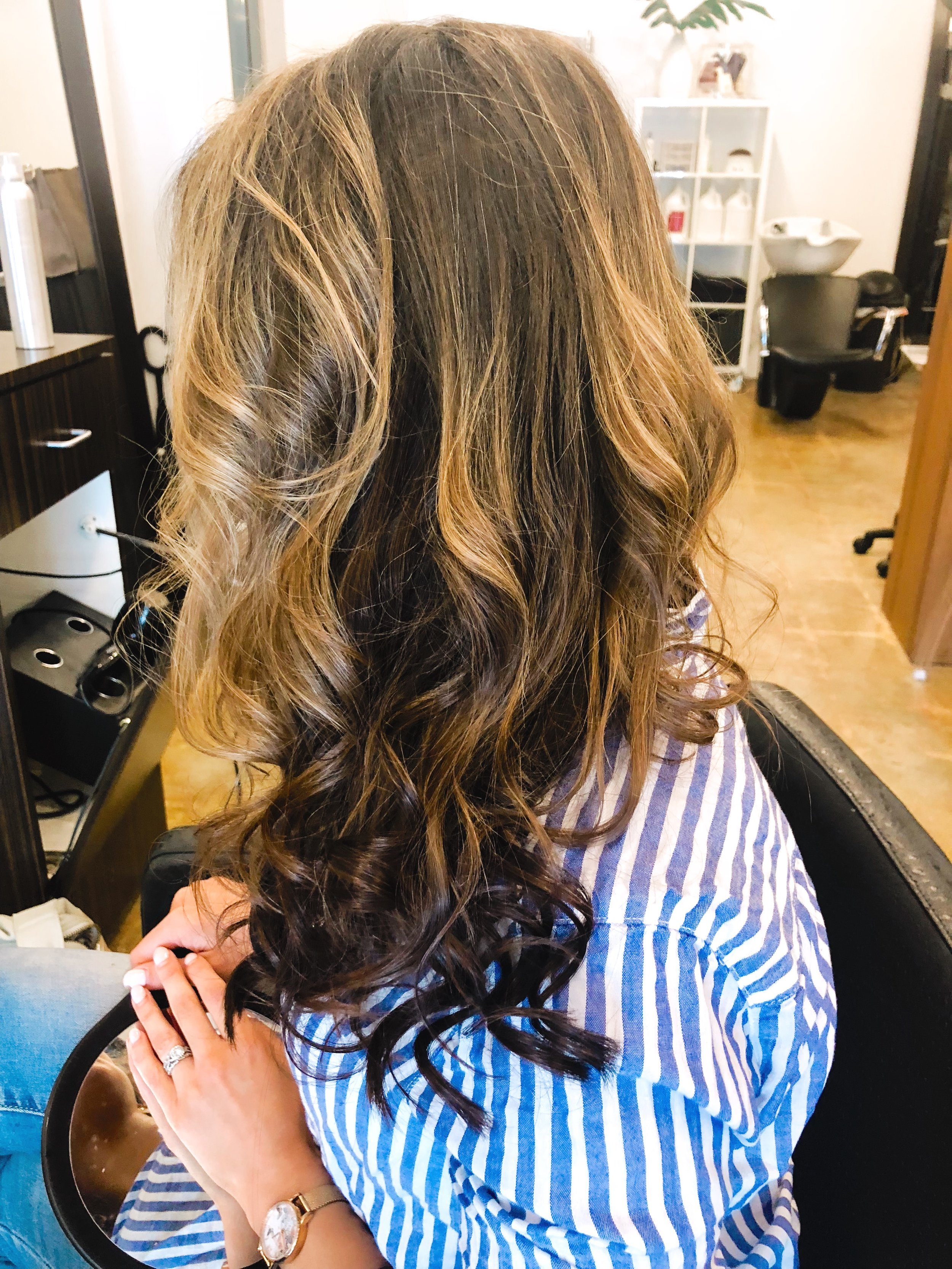 Brenna's Natural Beaded Row Extensions