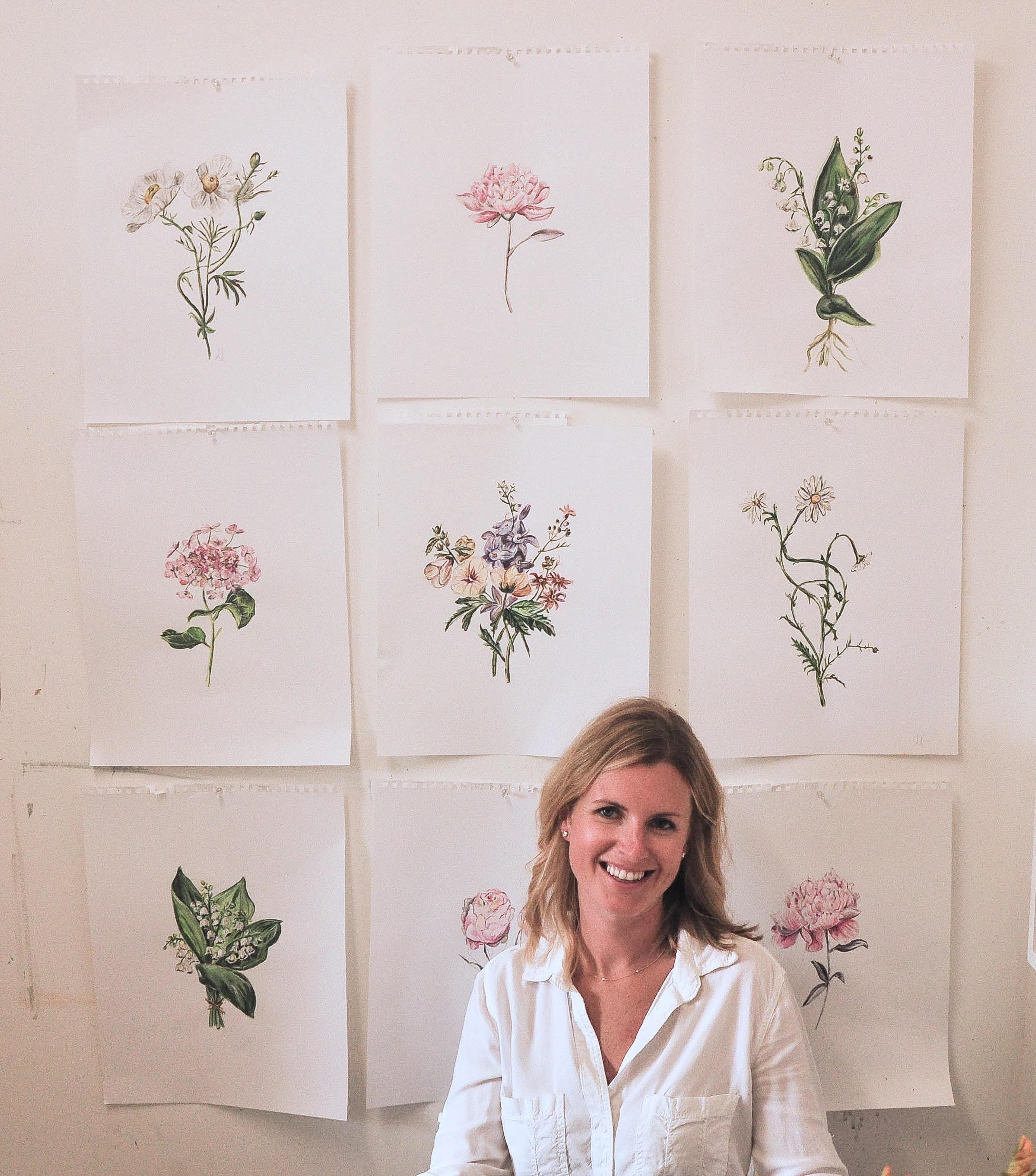 Savannah-based Acrylic Painter and Resin Artist, Mary Margaret Monsees