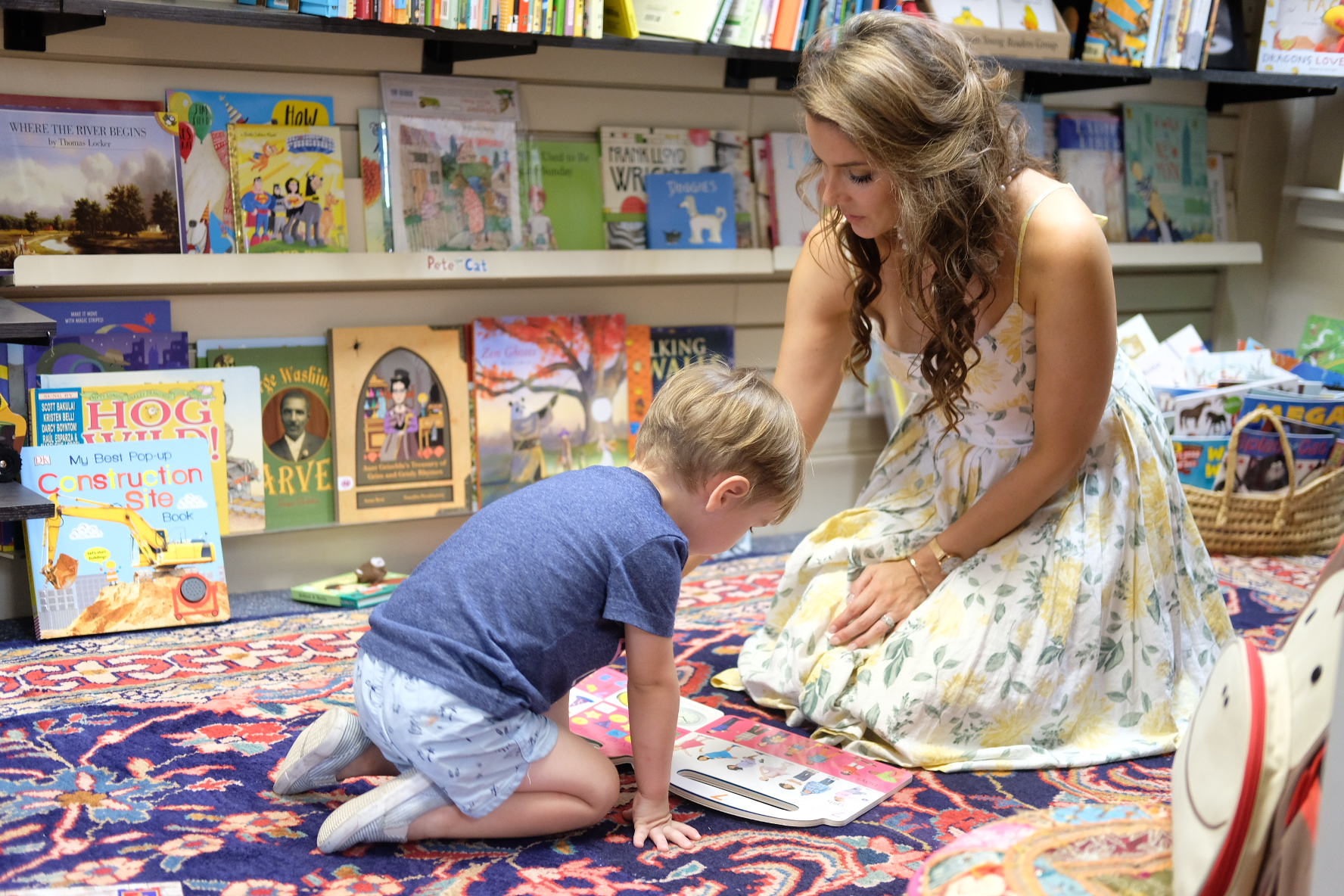 The Children's Book Room at E. Shaver Booksellers in Savannah GA