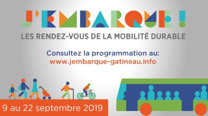 Les Rendez-vous de la mobilité durable - Édition 2019 : Consultez notre programmation !
