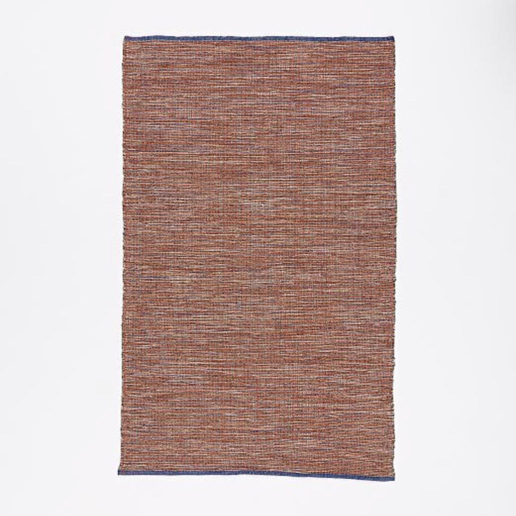 Contrast Warp Wood Rug