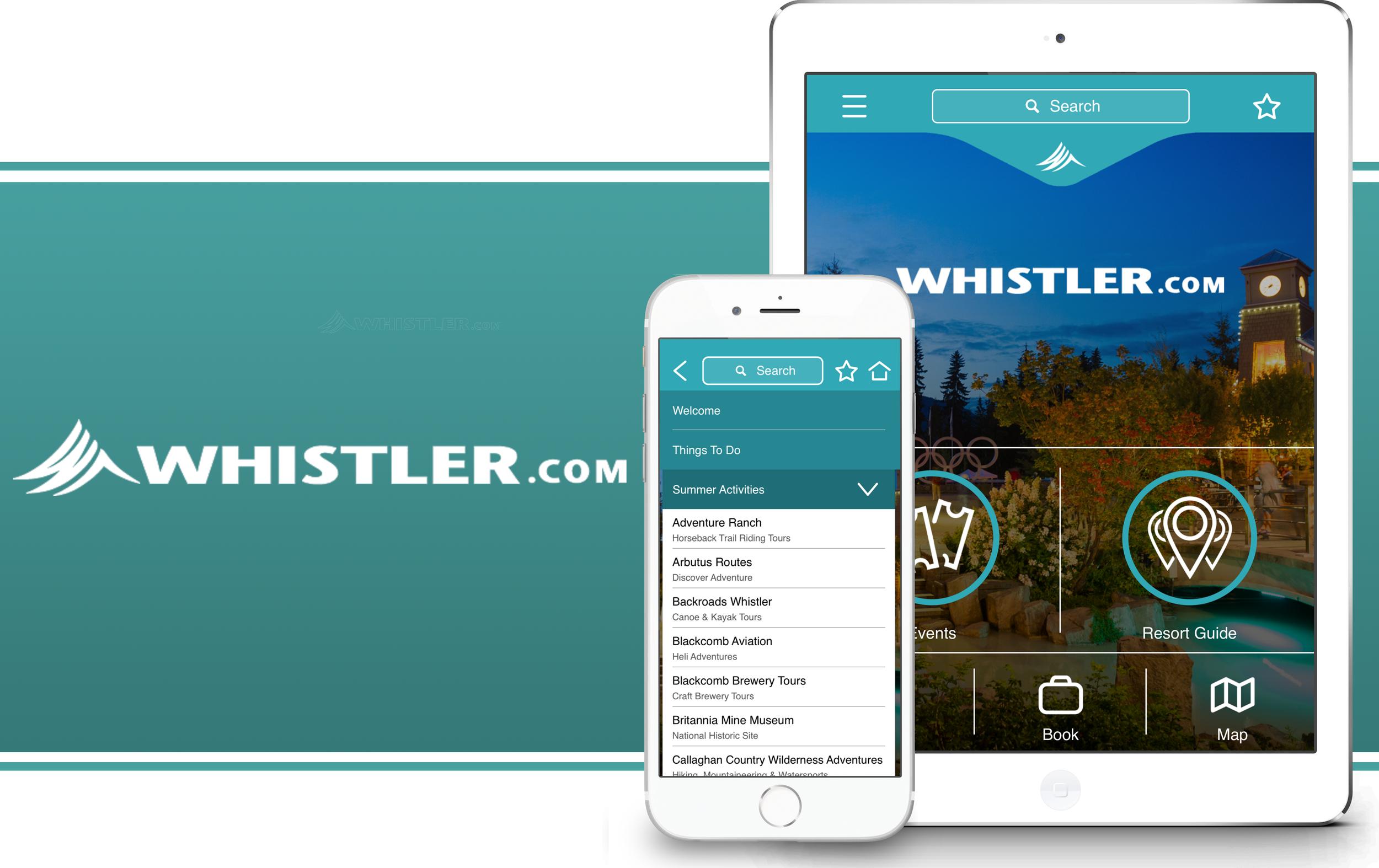 Whistler App Tour