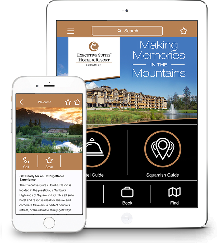 Executive Suites Squamish Mobile App