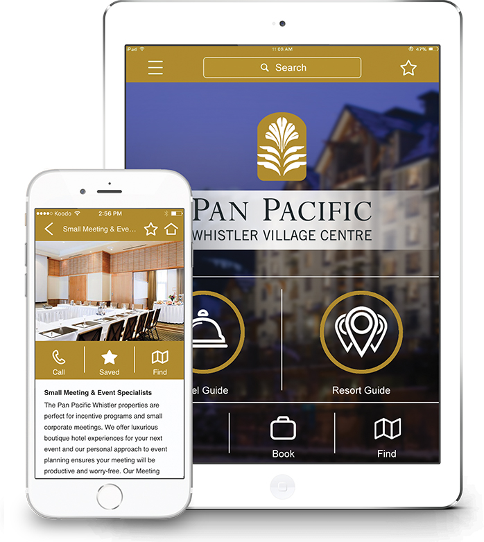 Pan Pacific Whistler Village Centre Mobile App