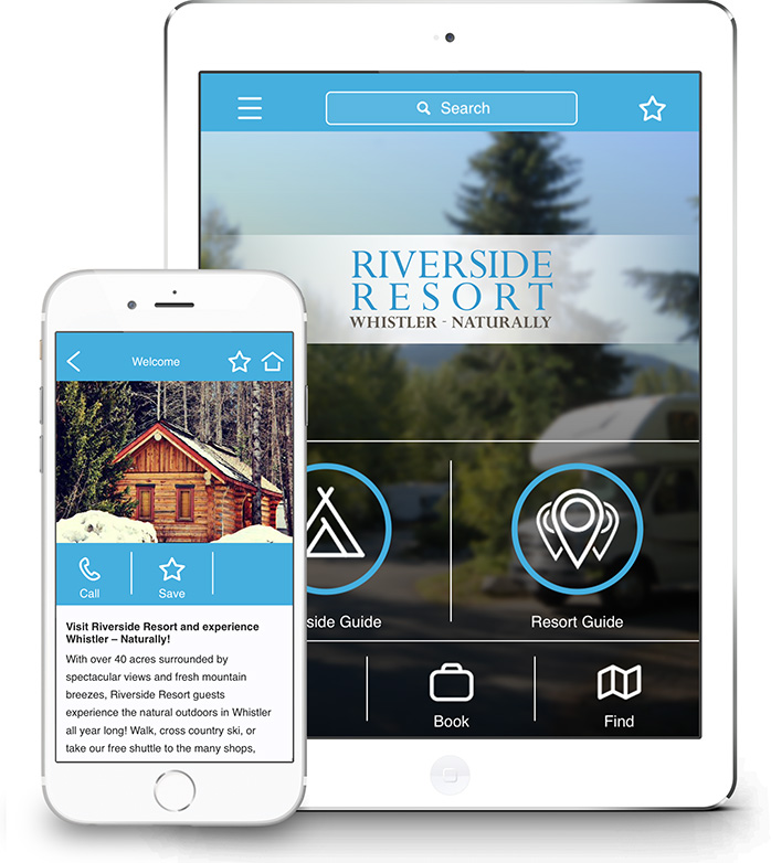 Riverside Resort Whistler Mobile App