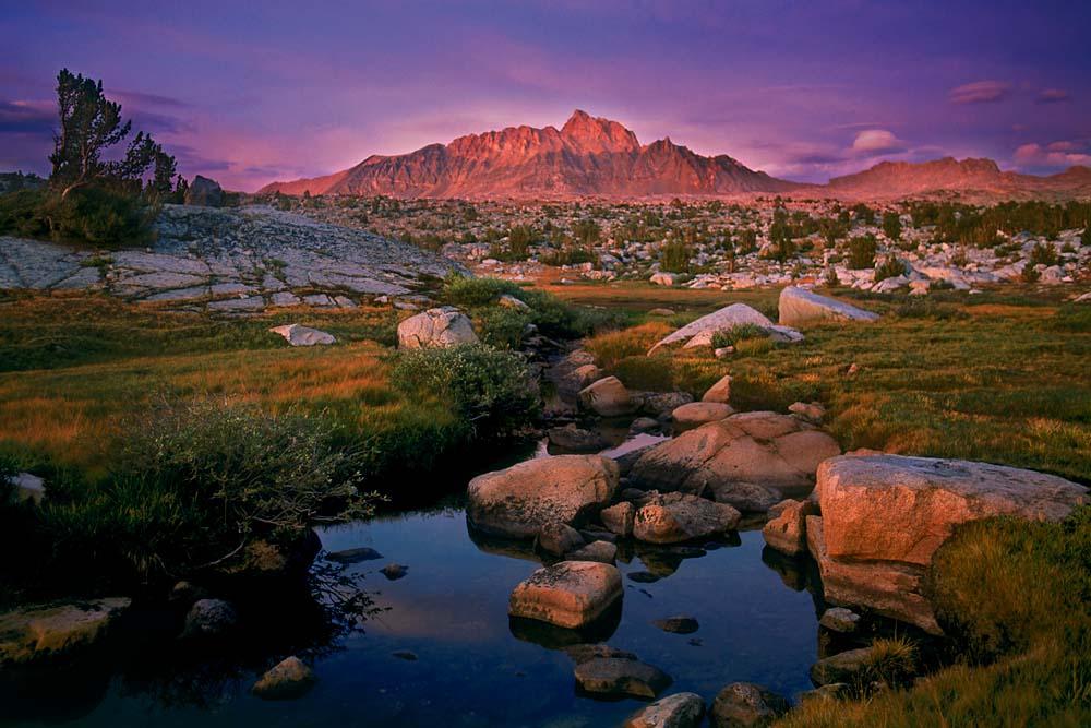 Humphrey's Basin at Dusk