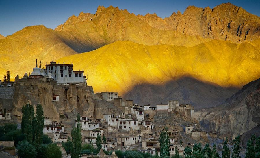 Tibetan Buddhism dominates the spiritual lives of the inhabitants of this region. Monasteries, some over a thousand years old, are found throughout the mountains.