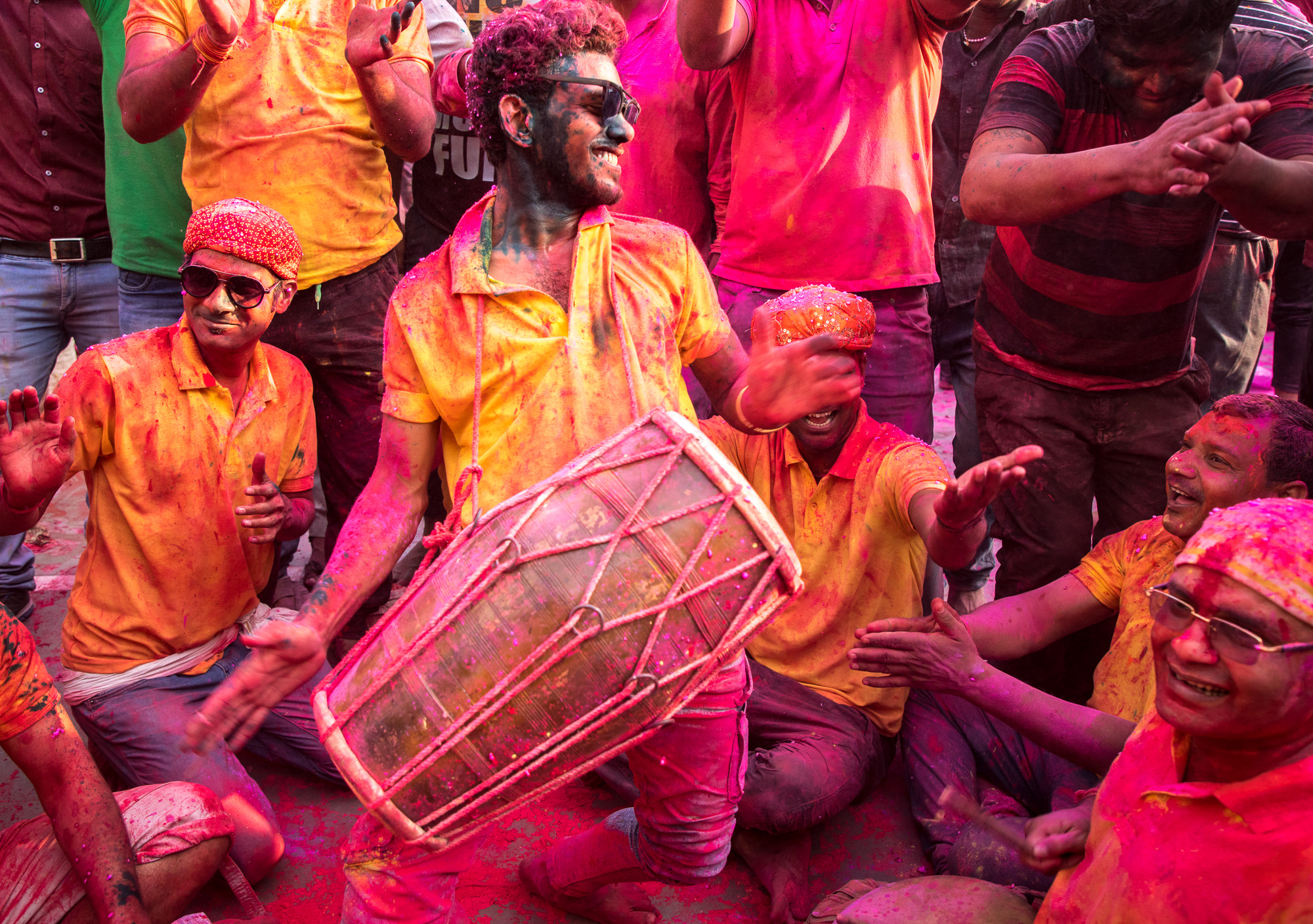 Holi is an explosion colors and joy