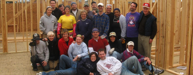 The team of volunteers from Broadway Church that traveled to New Orleans in January of 2008 to work for a week with Habitat for Humanity in their efforts to help rebuild after Hurricane Katrina.