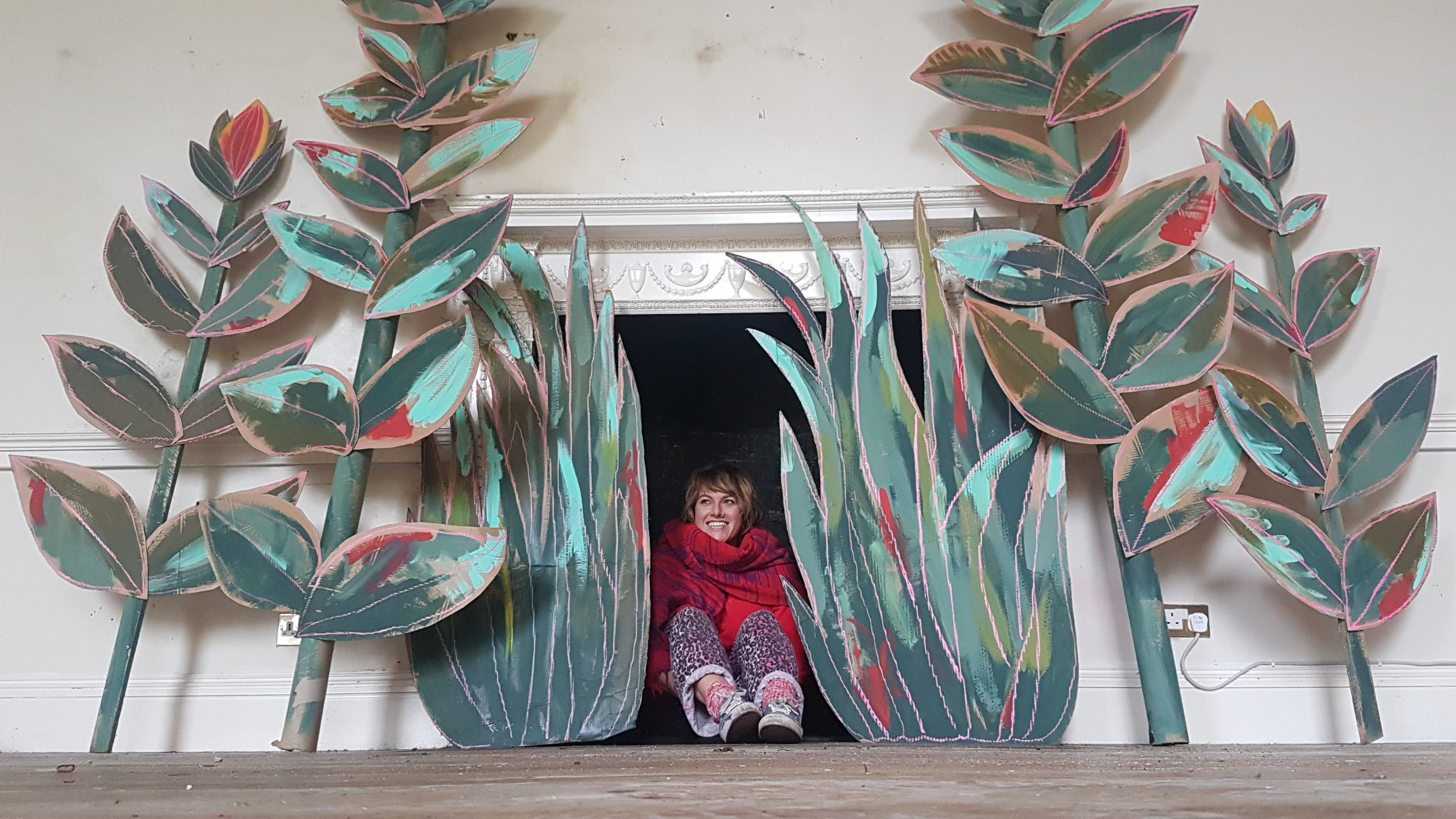 Millie Egan with her plants.jpg