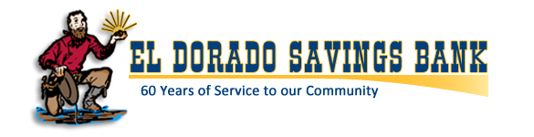 Silver Sponsor, El Dorado Savings