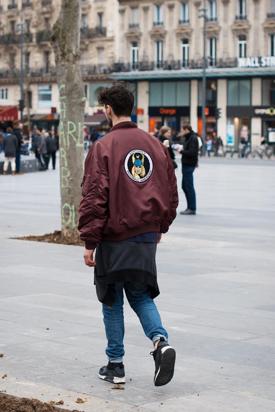 An American in Paris.