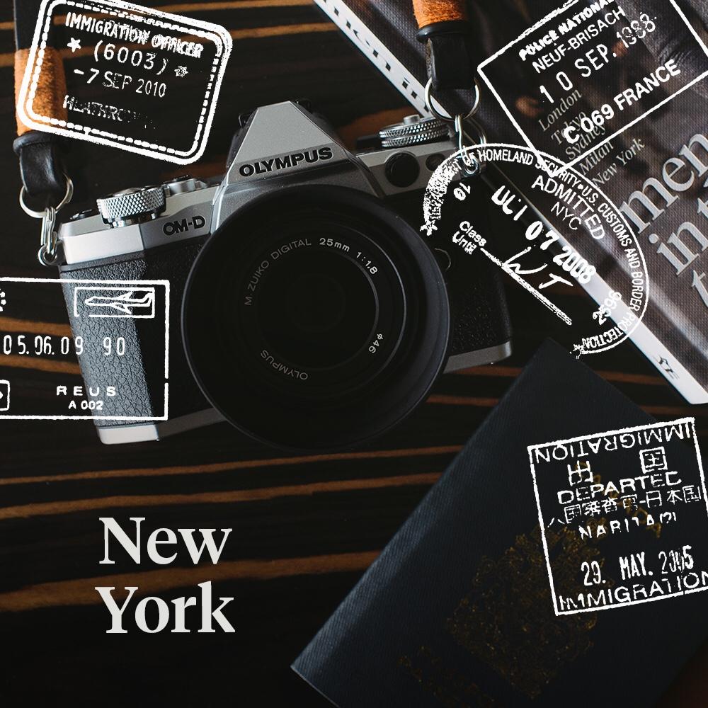Hello New York ! Follow my journey on  Instagram  captured with my Olympus OM-D EM5II .