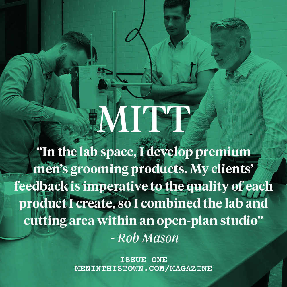 Issue one of  MITT  magazine available now →
