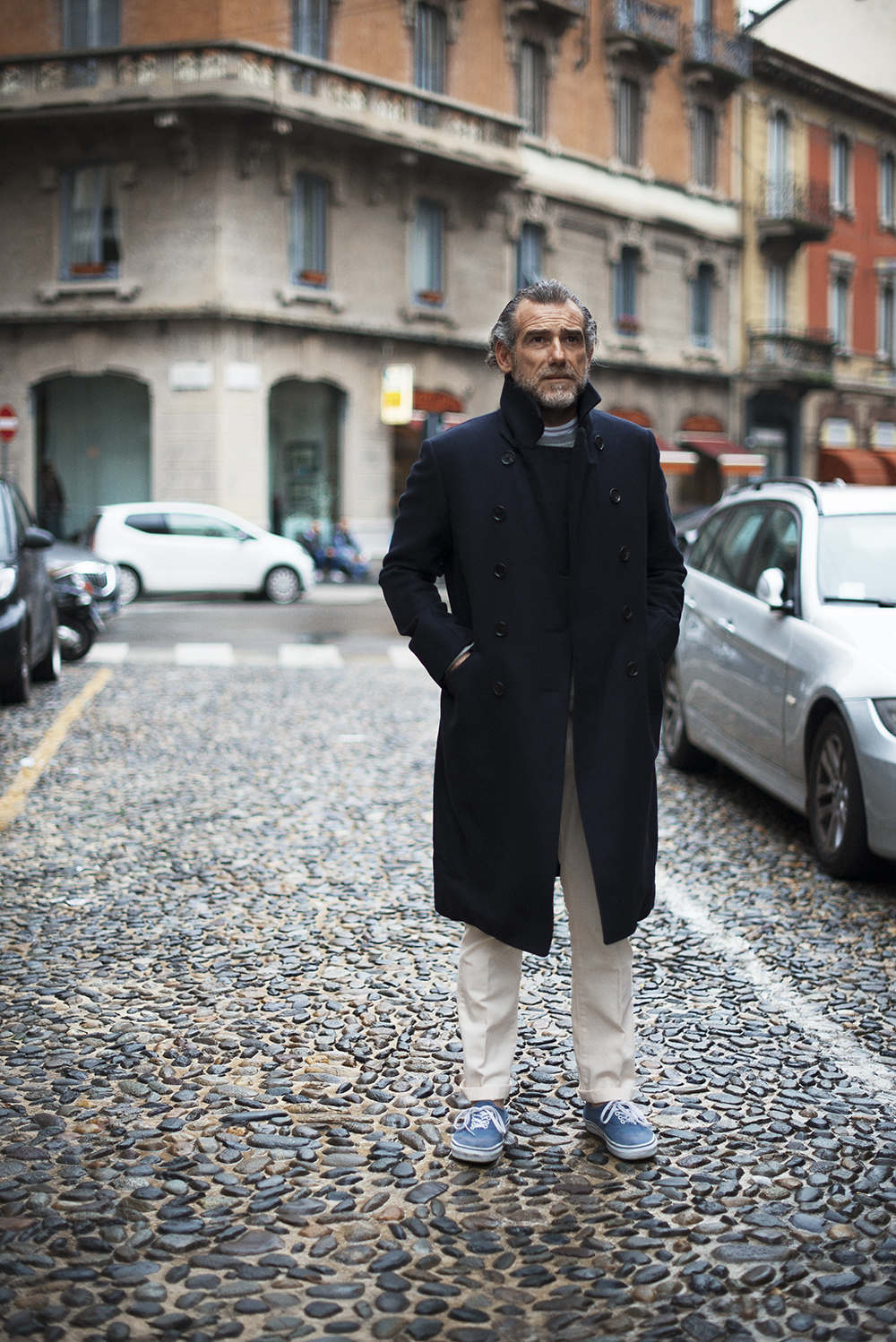 Alessandro Squarzi  as featured in the  Men In This Town    book  .