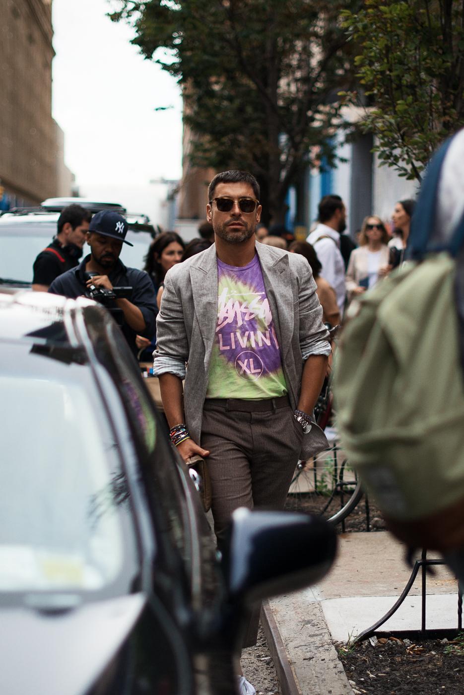 Livin'.   Similar look:   Friend or Faux Tie Dye T-Shirt  or   Stussy Tie Dye T-Shirt  .