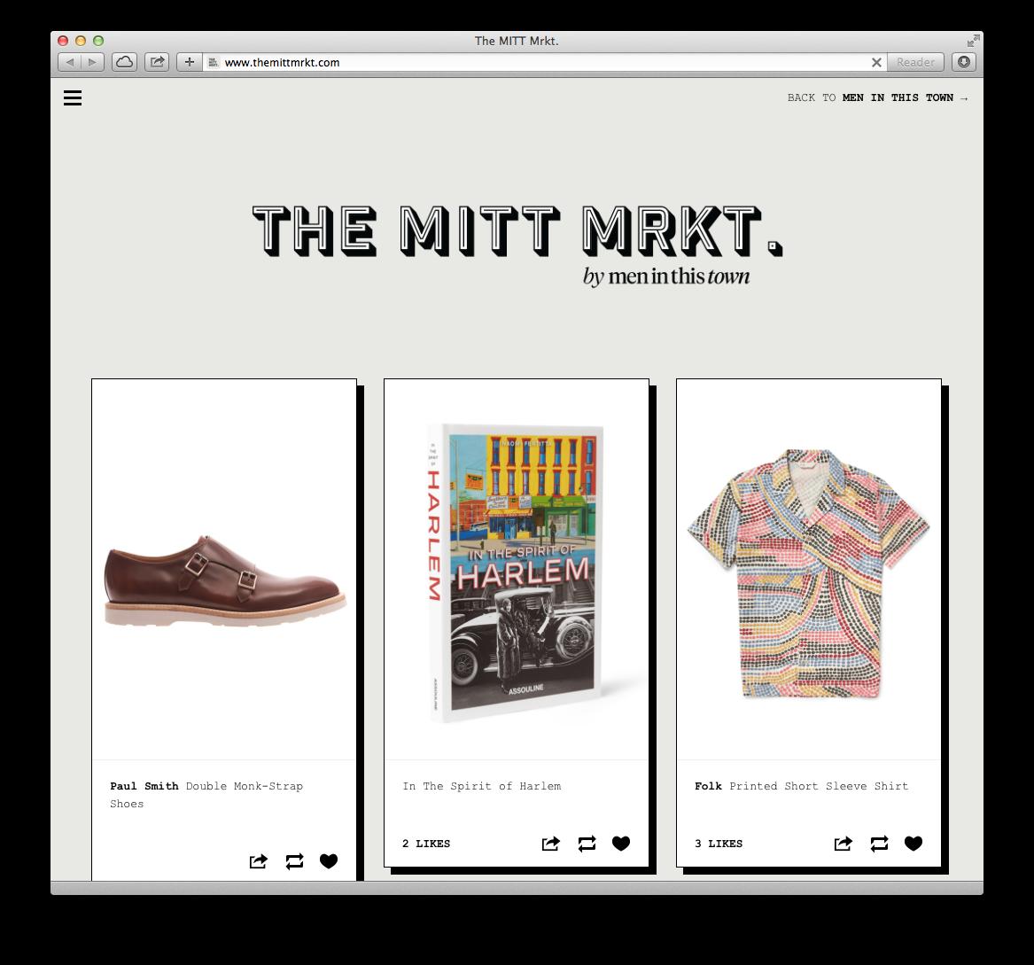 New goods added to    The MITT Mrkt.    this week.