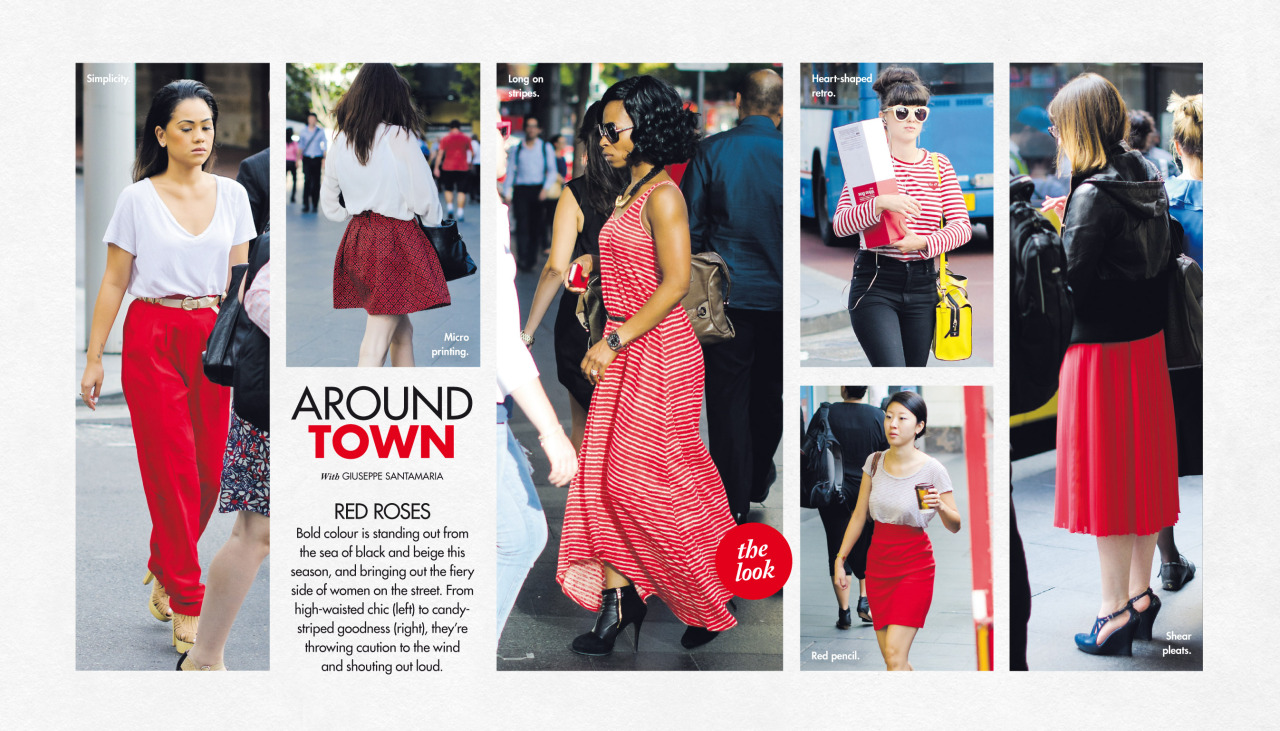 Last Sunday's   Around Town   in The Sun-Herald's  Sunday Life Magazine .