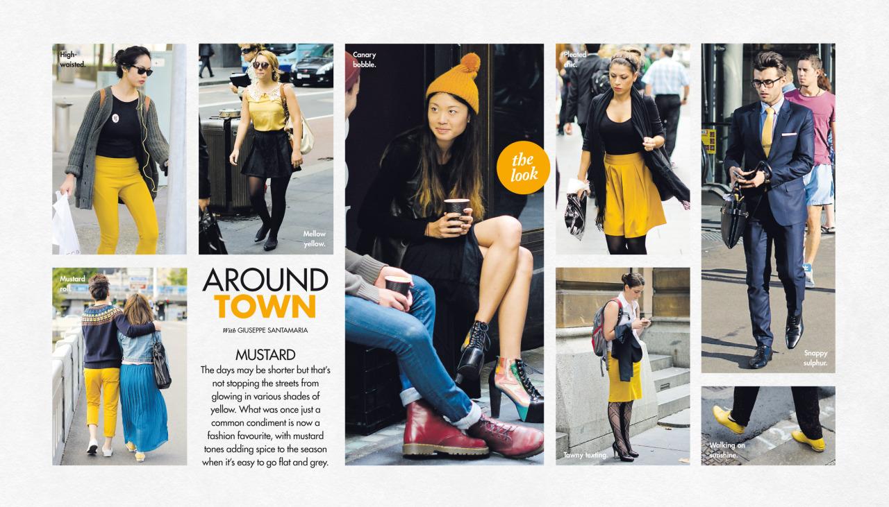 My favourite condiment   Around Town  , in The Sun-Herald's  Sunday Life Magazine .