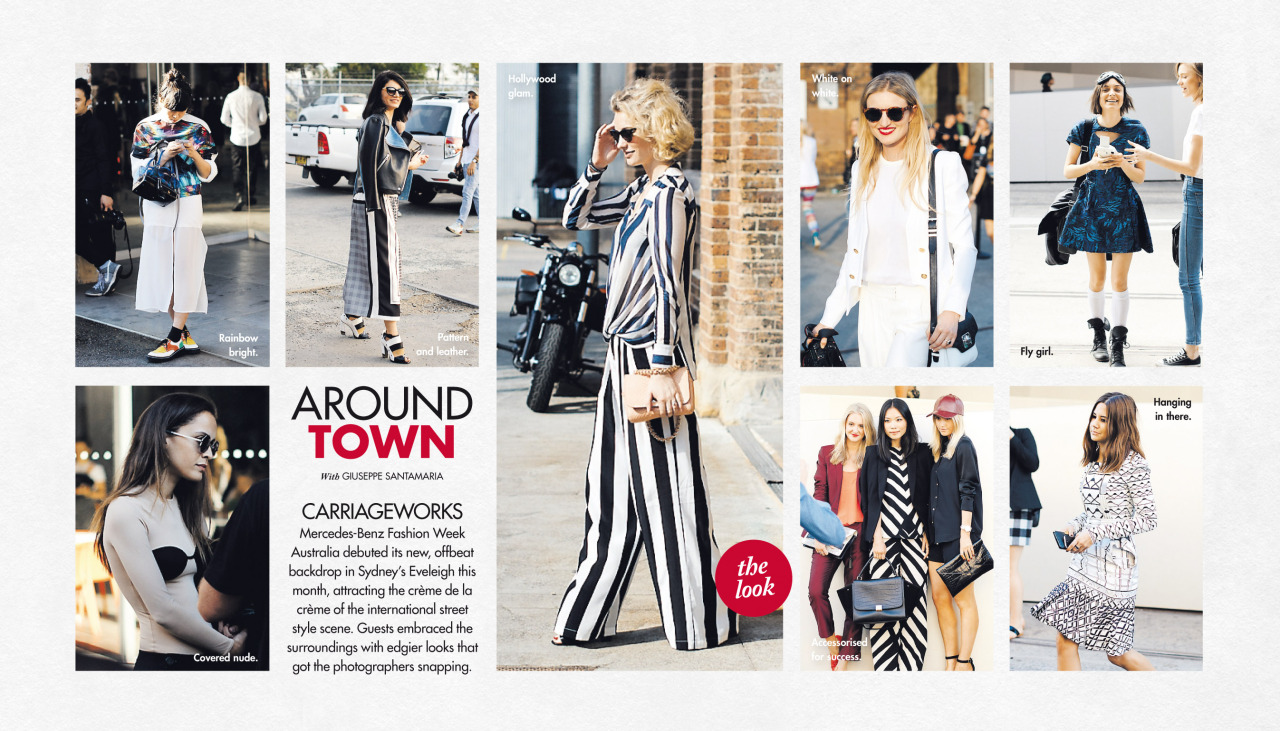 A round up of MBFWA in this past Sunday's   Around Town   in The Sun-Herald's  Sunday Life Magazine .