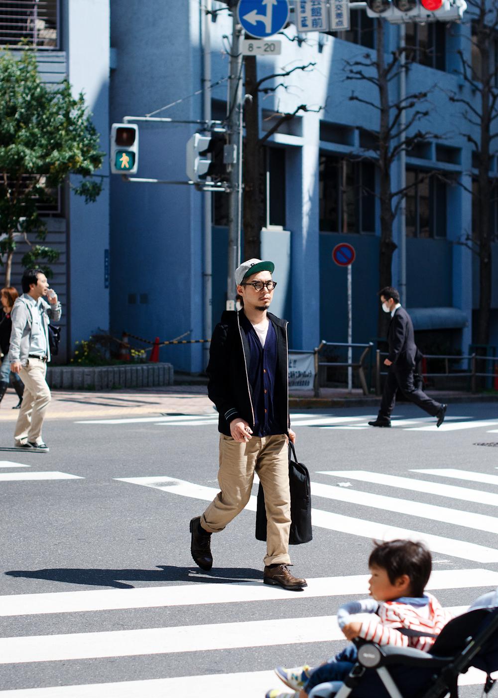 Tokyo crossing.