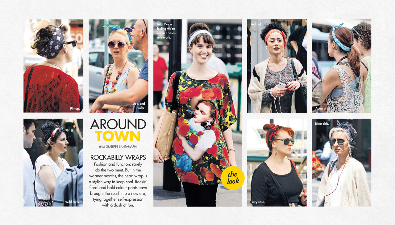 Rockabilly wraps   Around Town   in The Sun-Herald's  Sunday Life Magazine .
