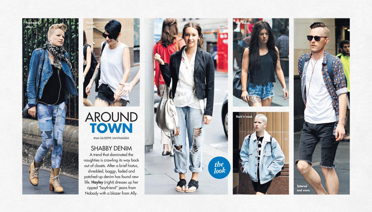 This past Sunday's  Around Town  in The Sun-Herald's Sunday Life Magazine .