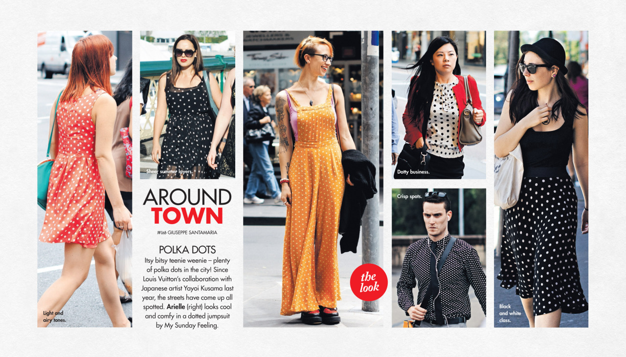 Back for the new year, this week's   Around Town   in The Sun-Herald's  Sunday Life Magazine  .