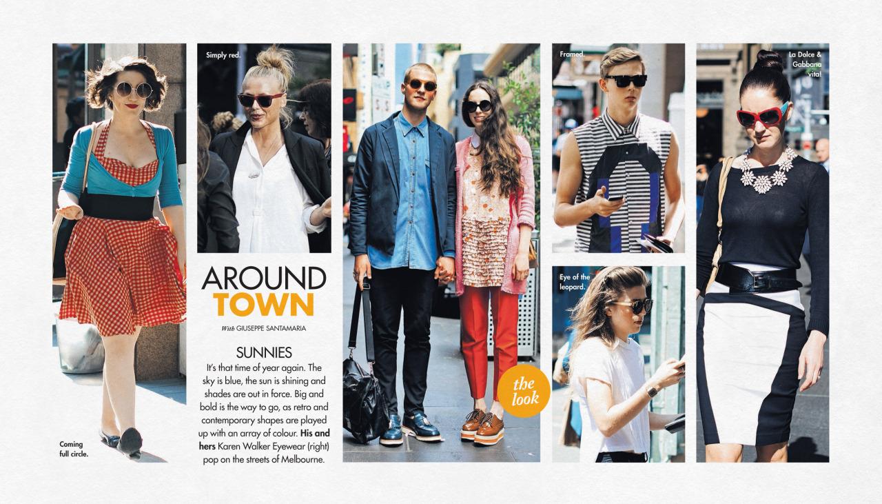This week's   Around Town   in The Sun-Herald's  Sunday Life Magazine .