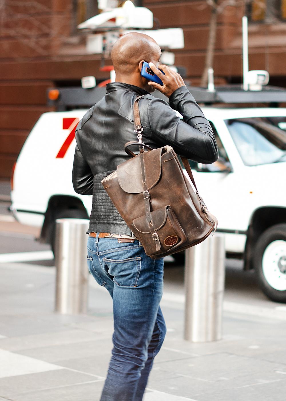 Bag it.   Similar look:  River Island Backpack  .