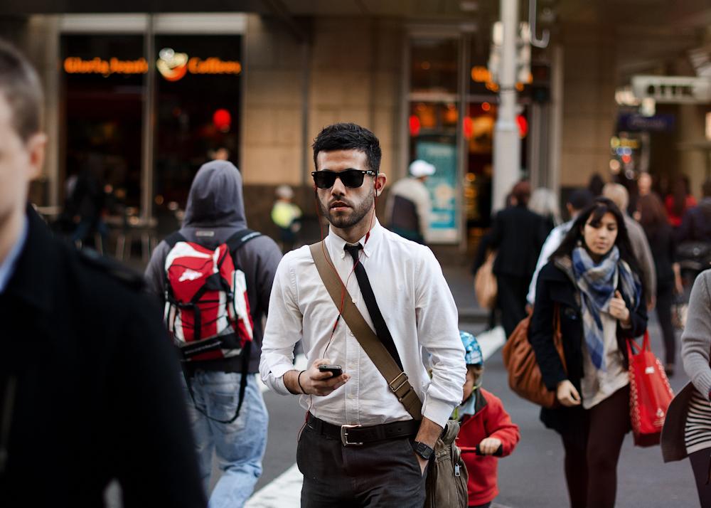 The skinny.   Similar look:  Burberry Prorsum Satin Tie  .