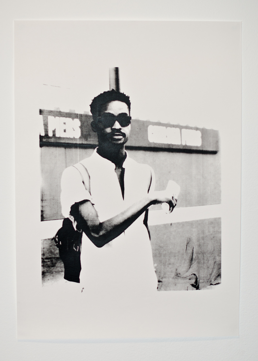 First screen print, photo from  NYFW September 2011 .
