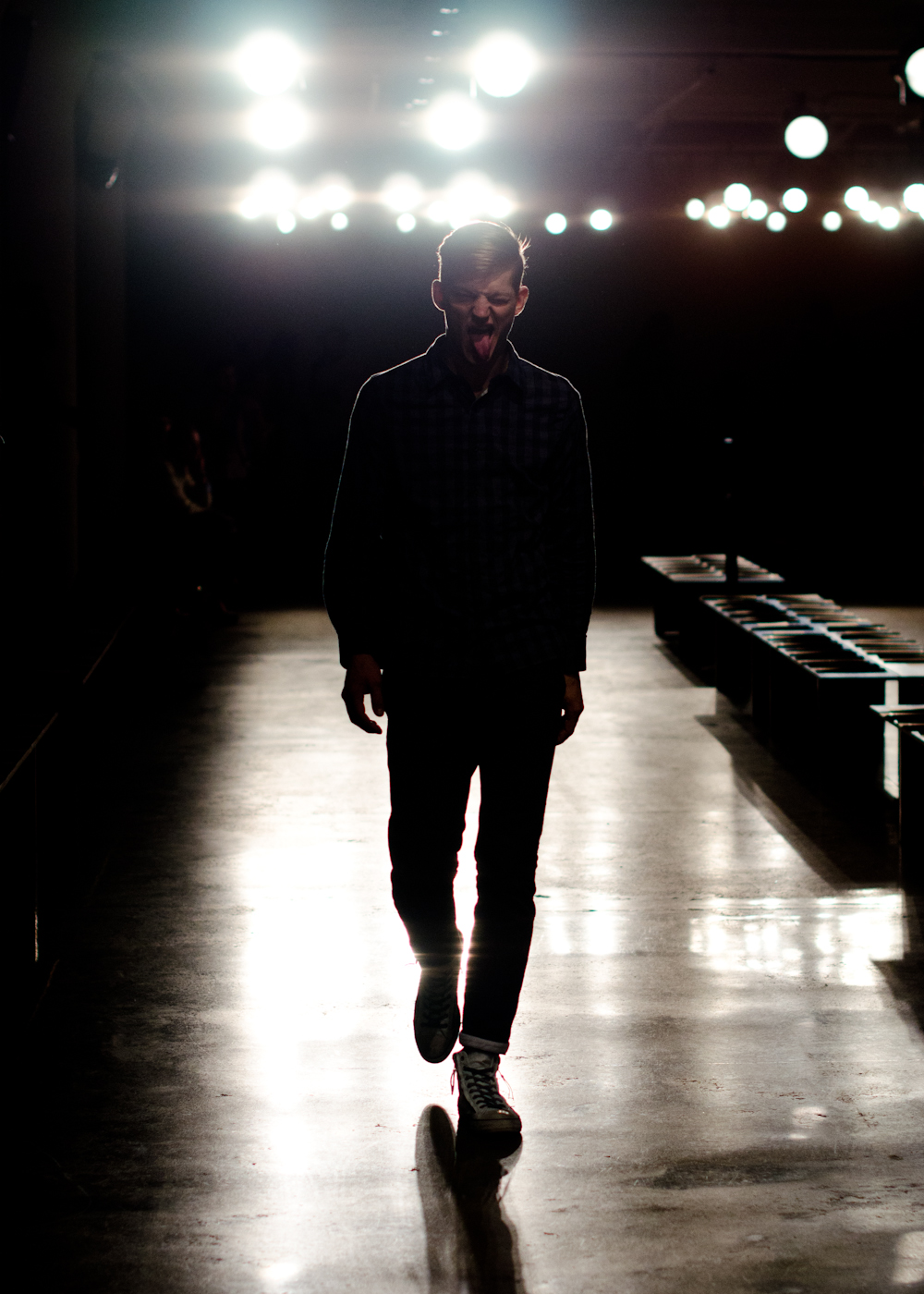 Run-through at Simon Spurr Fall/Winter 2012 collection at Milk Studios.