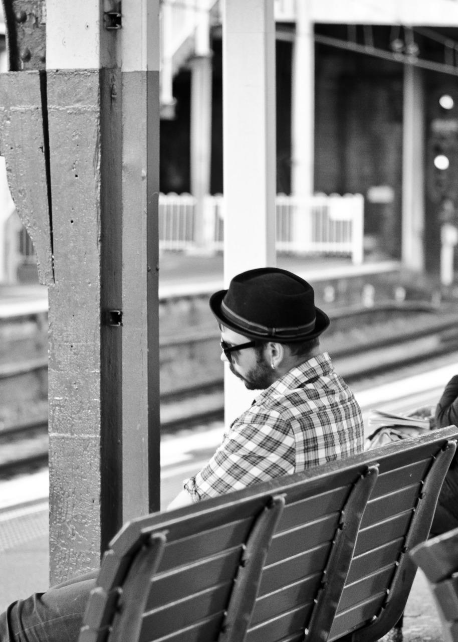 Porkpie at Redfern Station.