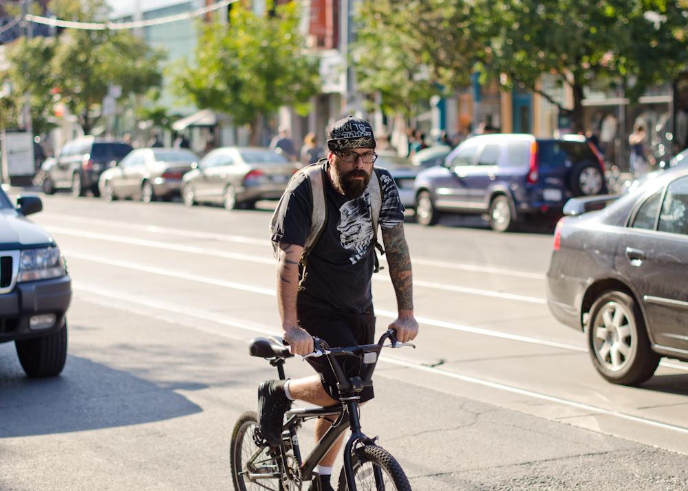 Tats on Queen Street in Toronto.