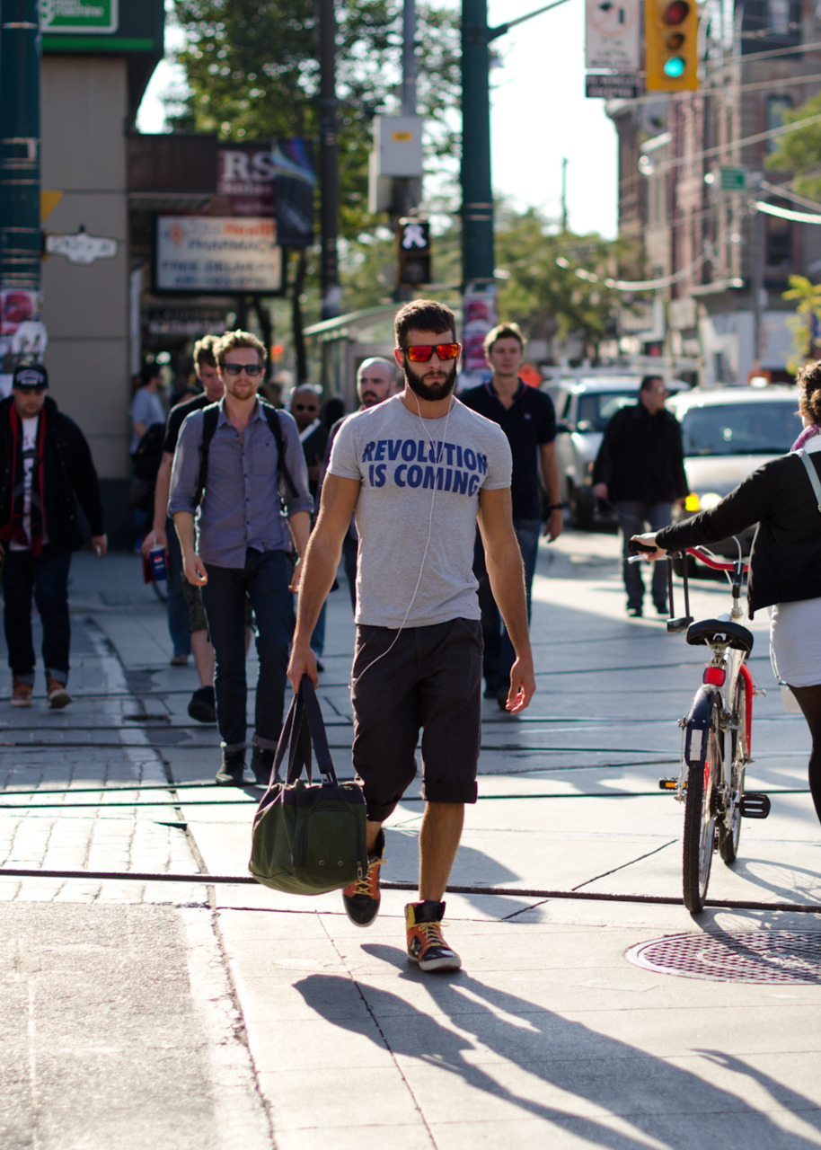 A revolution on the streets of Toronto.