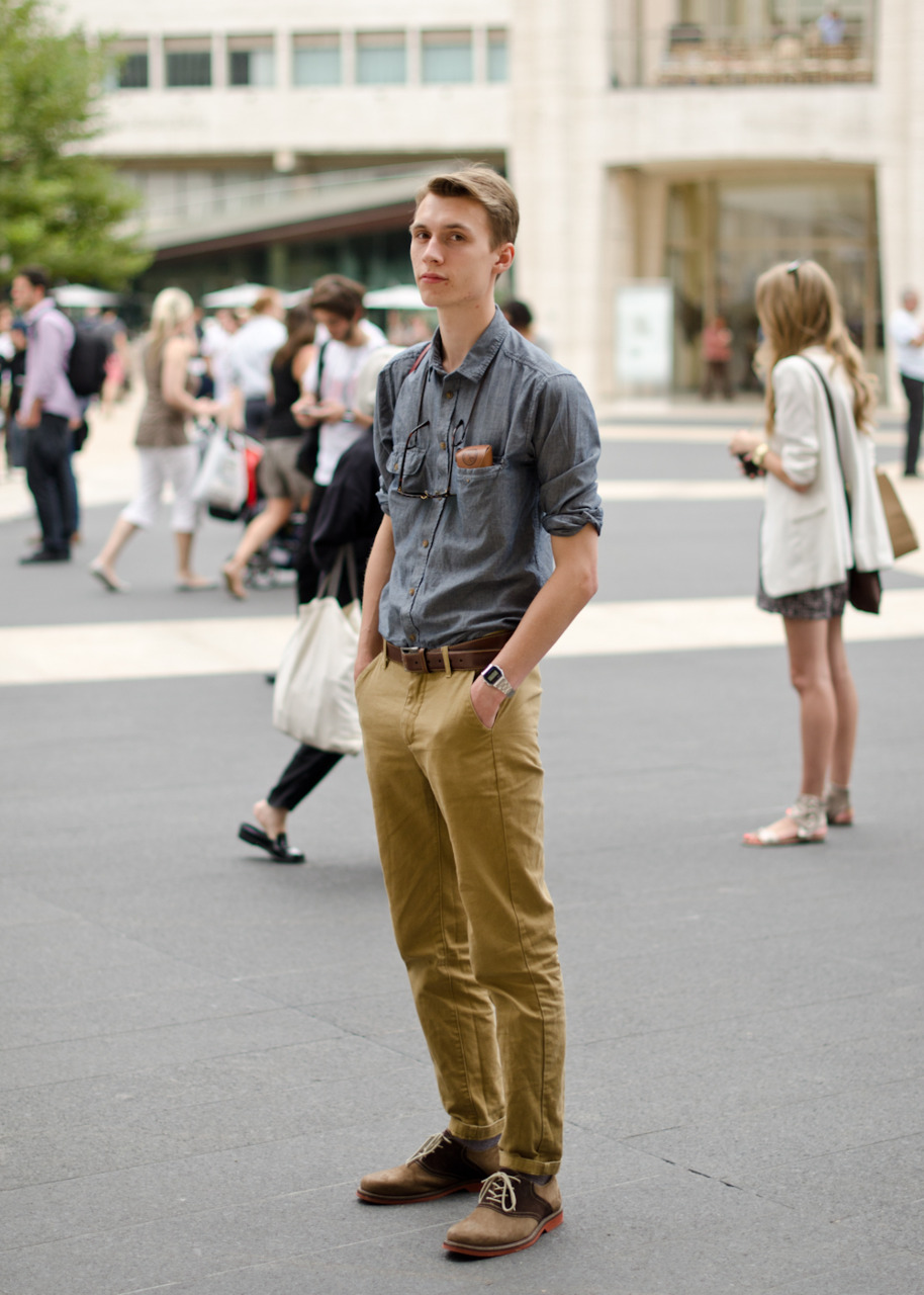 Simple and well put together, one of my favourite looks from NYFW.