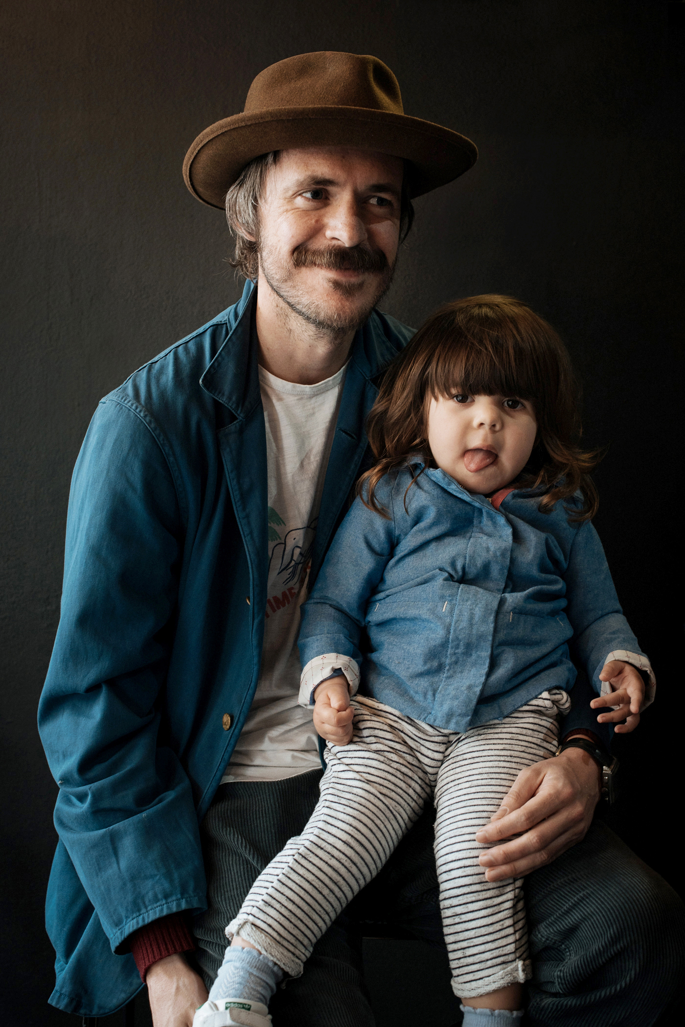 Adam Walmsley  and his daughter Ren, captured at   The MITT Mrkt  . in the lead up towards  Father's Day  here in Australia.