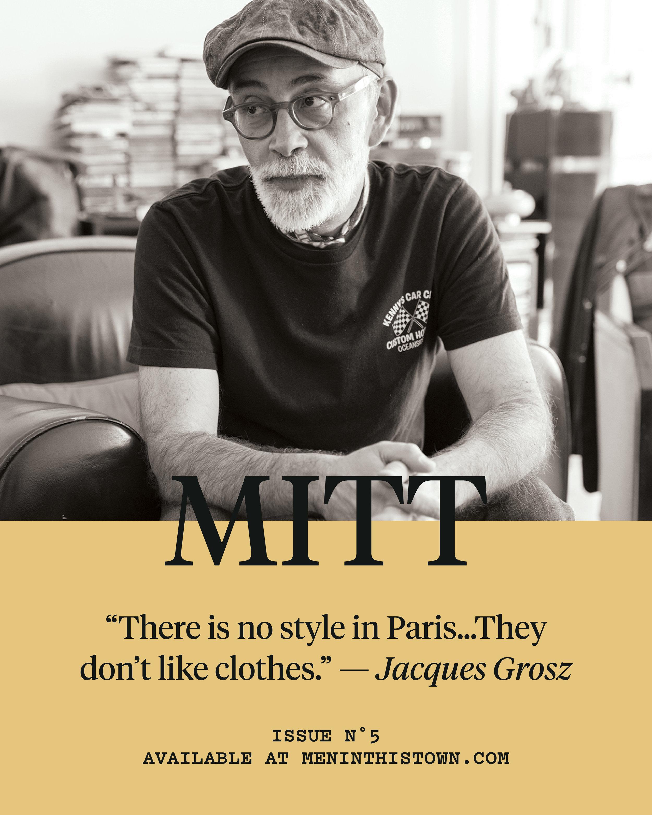 Pre-order   MITT   magazine issue 5 at   The MITT Mrkt  .   Photo by François Cavelier