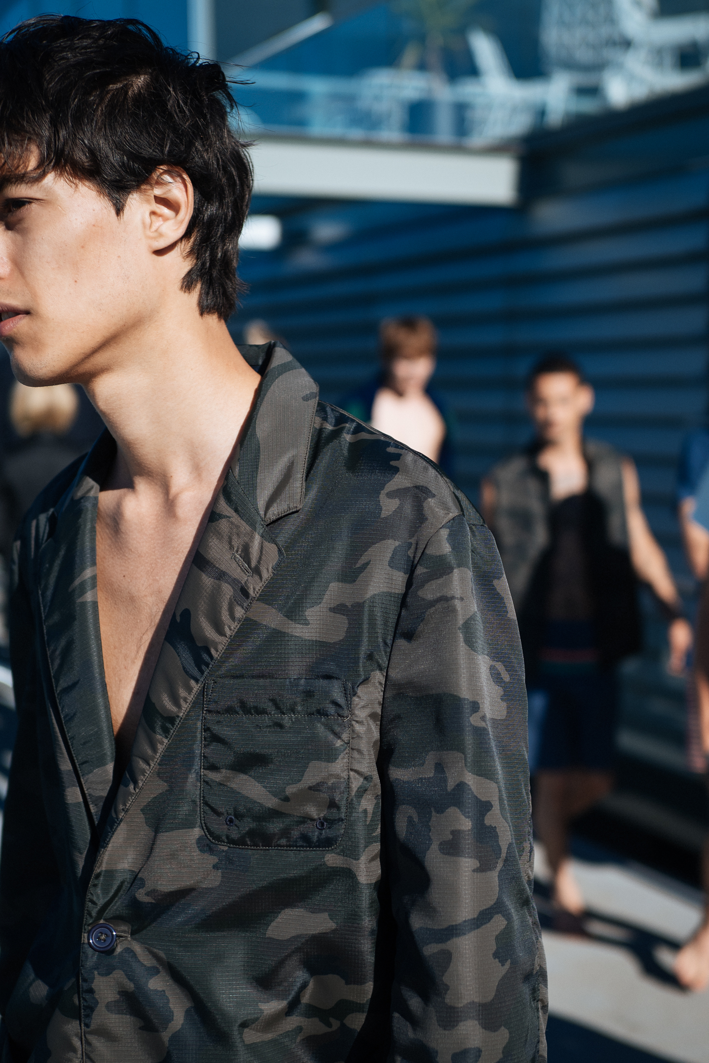 Resort camo at  Katama  during MBFWA, captured on my  OM-D E-M1 Mark II.    Available from  Digi Direct  stores nationally .