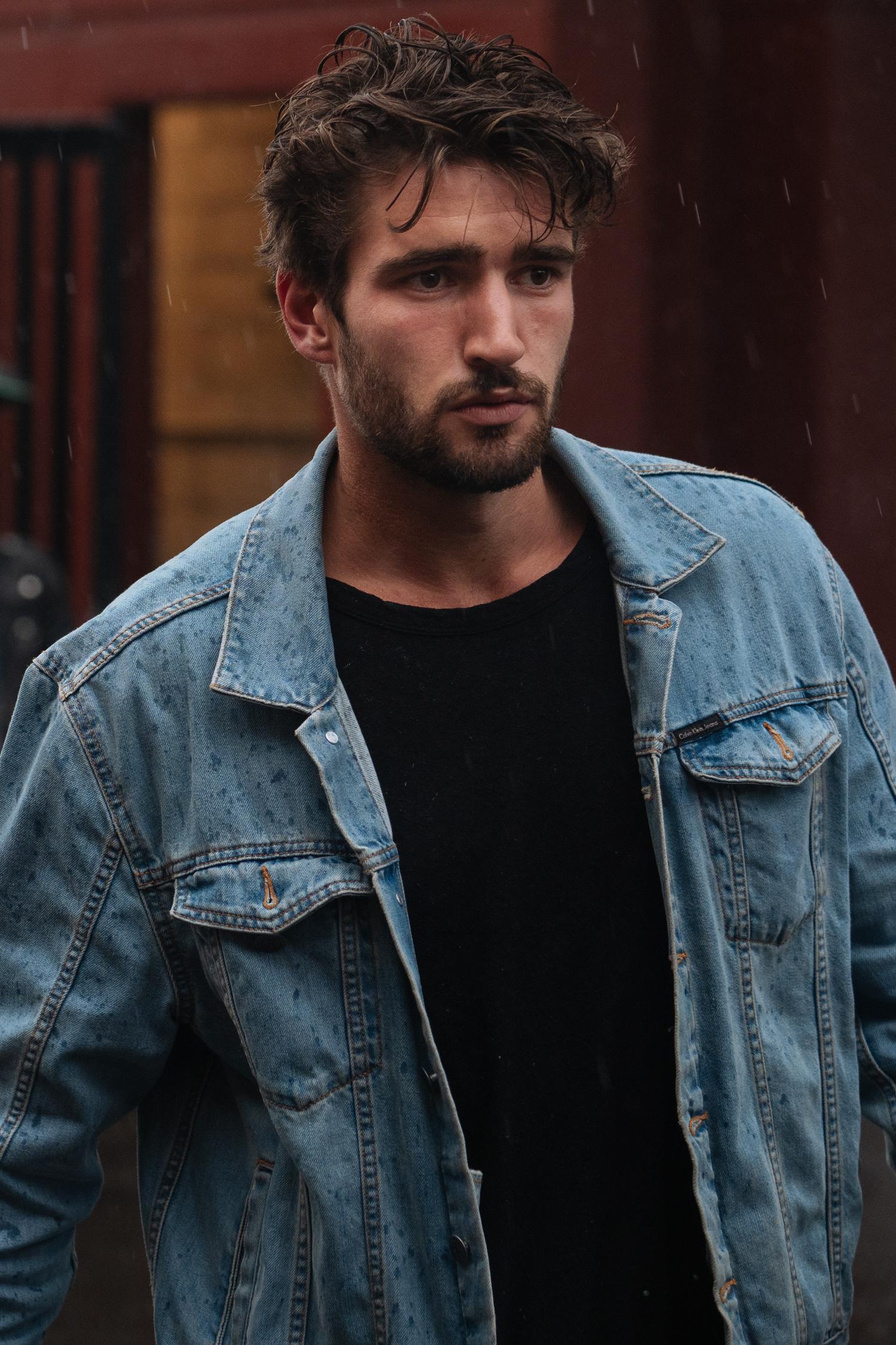 Jean jacket.