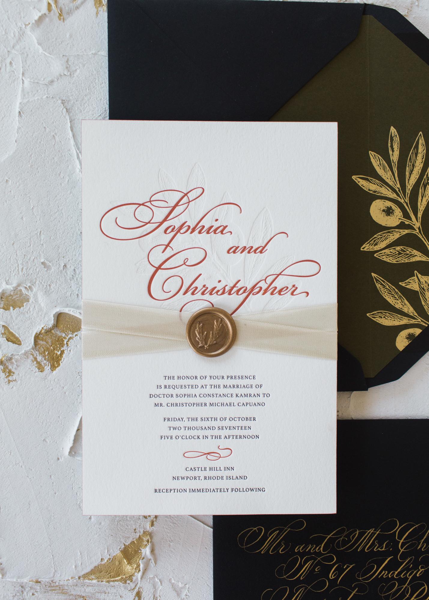 Sophia | Letterpress