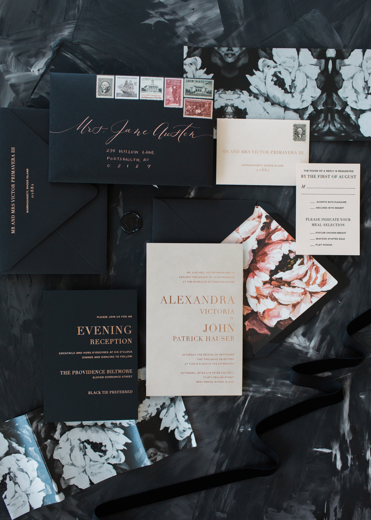 AP_Wedding_Invites_Rose-Gold-Foil-Newport-Moody-Floral-Invitations-champagne-and-ink_Molly-Lo-1.jpg