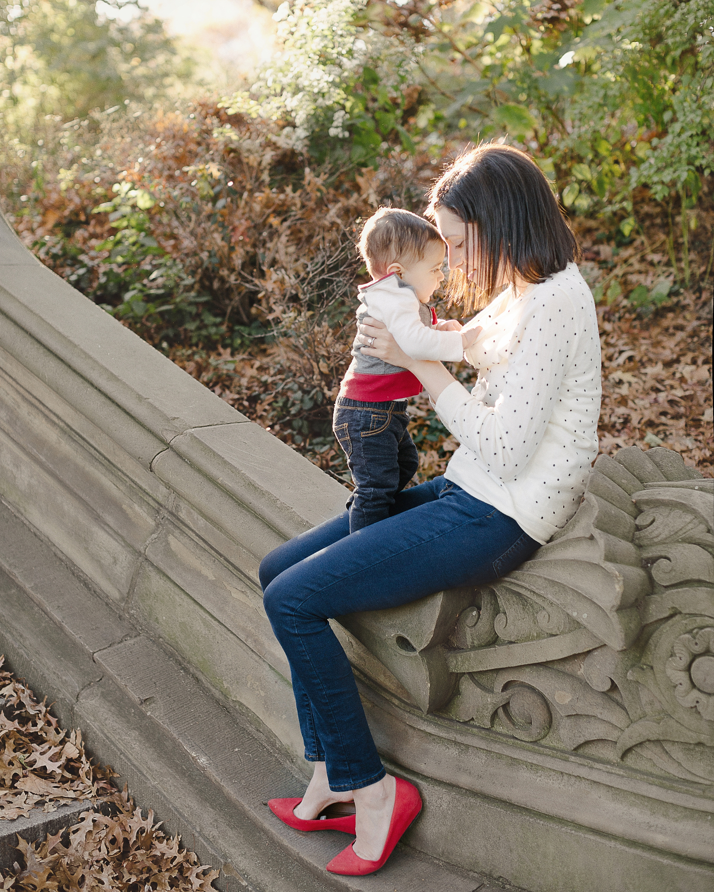 Central Park - Family Portrait Photography