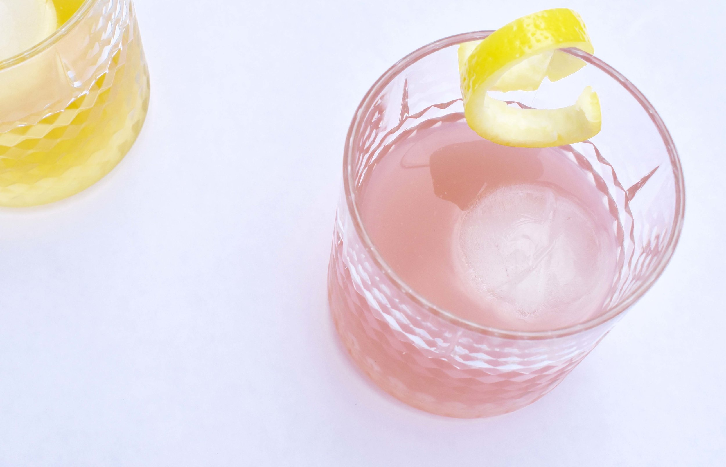 Garnish of Lemon Peel